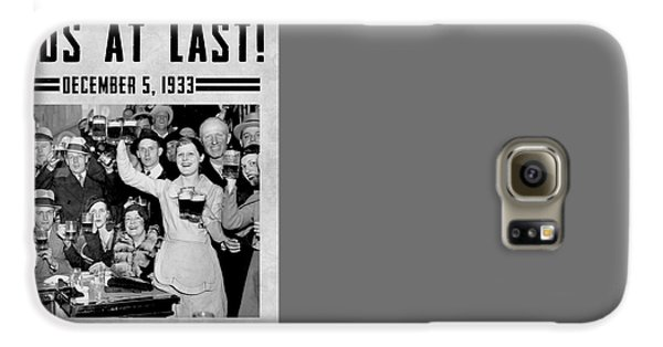 Prohibition Ends Celebrate Galaxy S6 Case