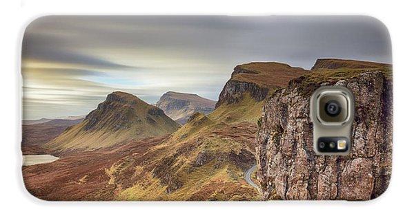 Quiraing - Isle Of Skye Galaxy S6 Case by Grant Glendinning