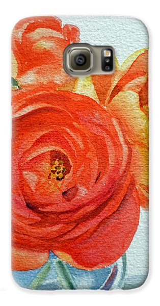 Ranunculus Galaxy S6 Case