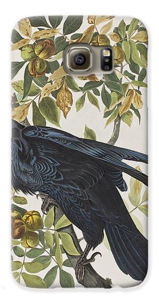 Raven Galaxy S6 Case by John James Audubon