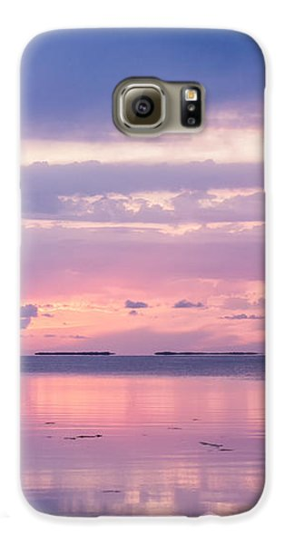 Reflections At Sunset In Key Largo Galaxy S6 Case