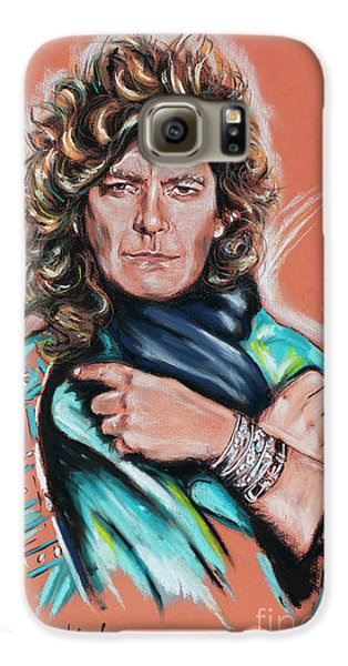 Robert Plant Galaxy S6 Case - Robert Plant by Melanie D