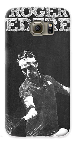 Roger Federer Galaxy S6 Case by Semih Yurdabak