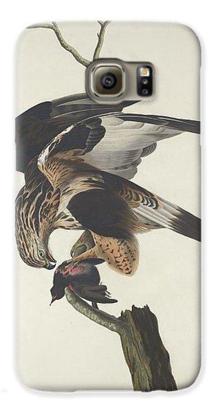 Rough Legged Falcon Galaxy S6 Case by Rob Dreyer