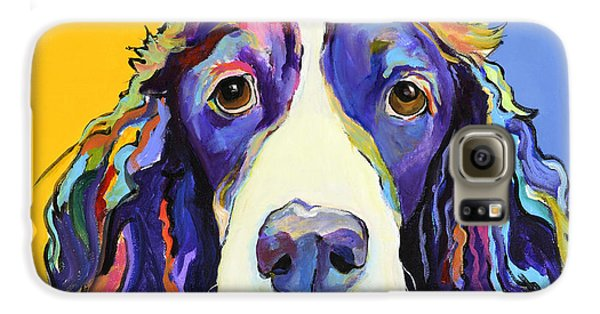 Dog Galaxy S6 Case - Sadie by Pat Saunders-White