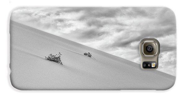 Galaxy S6 Case featuring the photograph Sand And Clouds by Hitendra SINKAR
