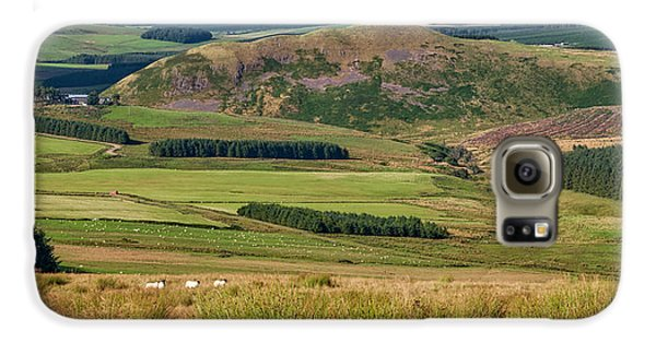 Scotland View From The English Borders Galaxy S6 Case