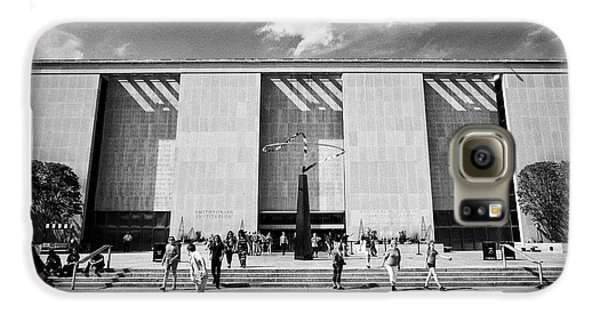 Smithsonian Museum Galaxy S6 Case - smithsonian national museum of american history building Washington DC USA by Joe Fox