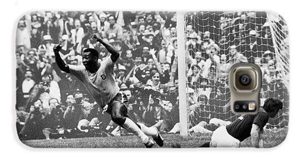 Soccer: World Cup, 1970 Galaxy S6 Case by Granger