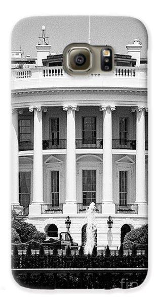 south facade of the white house Washington DC USA Galaxy S6 Case