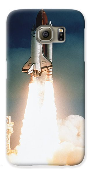 Space Galaxy S6 Case - Space Shuttle Launch by NASA Science Source