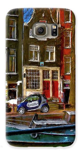 Spiegelgracht 6. Amsterdam Galaxy S6 Case