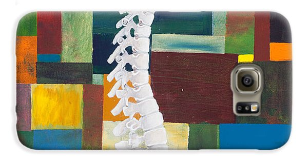 Doctor Galaxy S6 Case - Spine by Sara Young