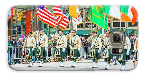 St. Patrick Day Parade In New York Galaxy S6 Case