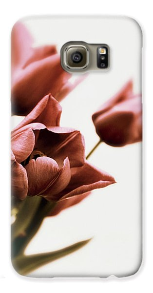 Galaxy S6 Case featuring the photograph Still Life Tulips by Jessica Jenney