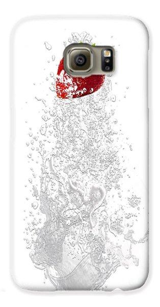 Strawberry Splash Galaxy S6 Case