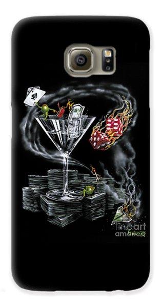 Martini Galaxy S6 Case - Strike It Rich by Michael Godard