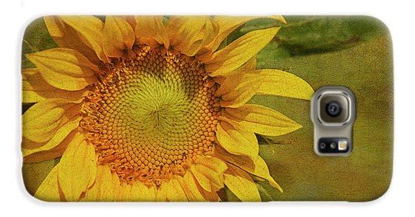 Sunflower Galaxy S6 Case - Sunflower by Cindi Ressler