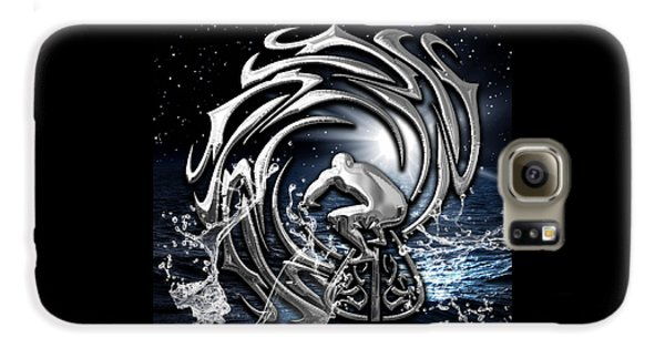Surf's Up Collection Galaxy S6 Case by Marvin Blaine