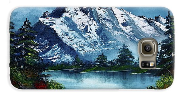 Mountain Galaxy S6 Case - Take A Breath by Barbara Teller