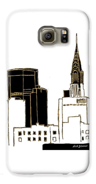 Tenement Empire State Building Galaxy S6 Case by Nicholas Biscardi
