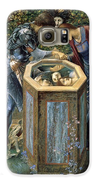 The Baleful Head Galaxy S6 Case by Edward Burne-Jones