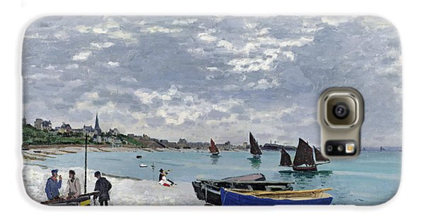 The Beach At Sainte Adresse Galaxy S6 Case