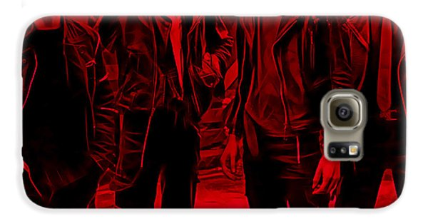 The Clash Collection Galaxy S6 Case by Marvin Blaine