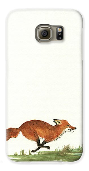 The Fox And The Pelicans Galaxy S6 Case