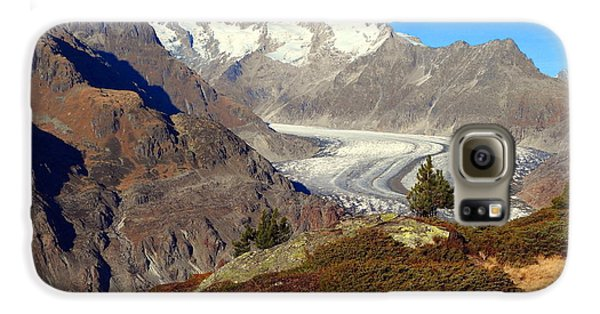 The Large Aletsch Glacier In Switzerland Galaxy S6 Case