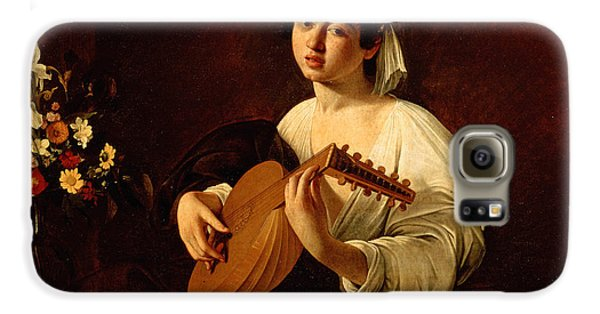 Music Galaxy S6 Case - The Lute-player by Caravaggio