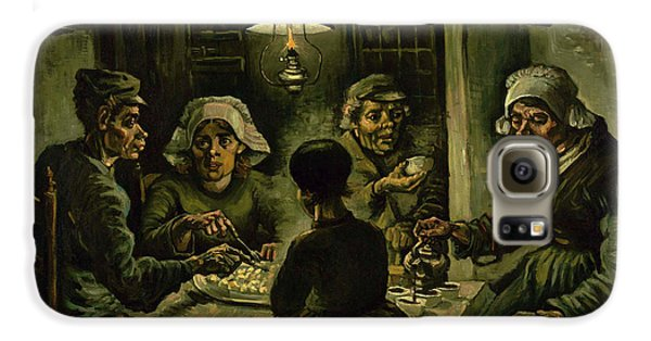 The Potato Eaters, 1885 Galaxy S6 Case by Vincent Van Gogh