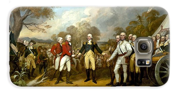 Landmarks Galaxy S6 Case - The Surrender Of General Burgoyne by War Is Hell Store