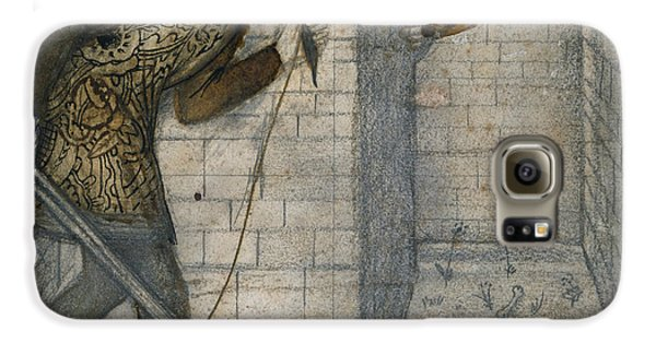 Theseus And The Minotaur In The Labyrinth Galaxy S6 Case by Edward Burne-Jones