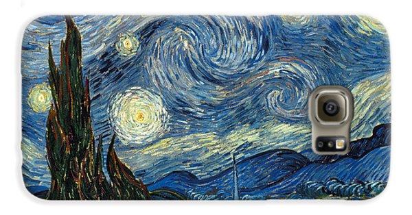 Impressionism Galaxy S6 Case - Van Gogh Starry Night by Granger