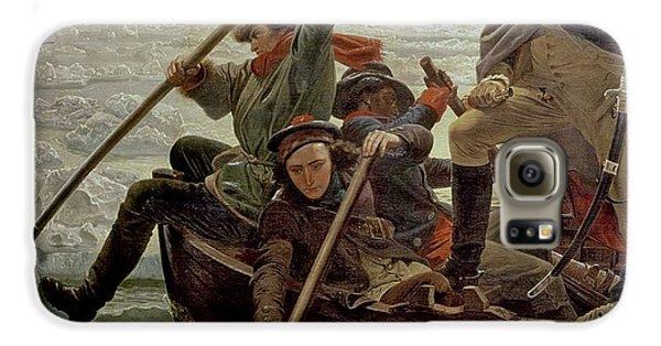 Boat Galaxy S6 Case - Washington Crossing The Delaware River by Emanuel Gottlieb Leutze