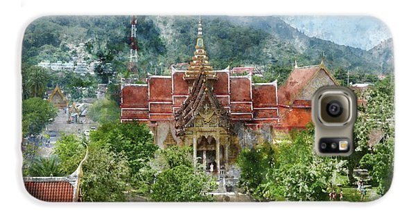 Wat Chalong In Phuket Thailand Galaxy S6 Case