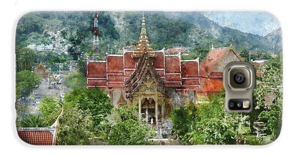 Wat Chalong In Phuket Thailand Galaxy S6 Case