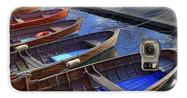 Boat Galaxy S6 Case - Wooden Boats by Joana Kruse
