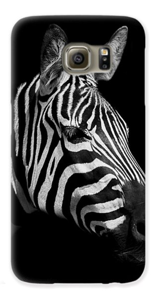 Zebra Galaxy S6 Case by Paul Neville