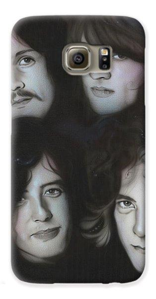 Robert Plant Galaxy S6 Case - Zeppelin by Christian Chapman Art