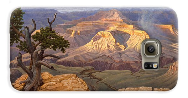 Zoroaster Temple From Yaki Point Galaxy S6 Case by Paul Krapf