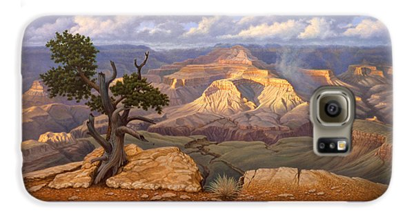 Zoroaster Temple From Yaki Point Galaxy S6 Case by Paul Krapf
