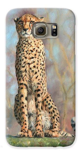 Cheetah Galaxy S6 Case by David Stribbling