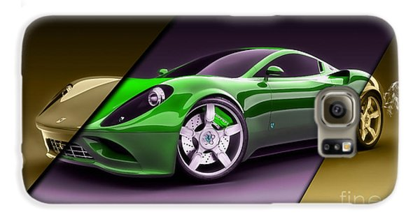 Ferrari Collection Galaxy S6 Case by Marvin Blaine