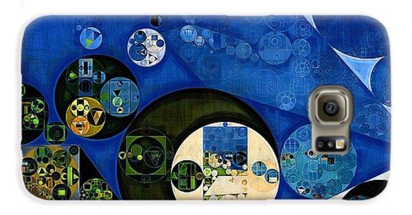 Kangaroo Galaxy S6 Case - Abstract Painting - Dark Jungle Green by Vitaliy Gladkiy