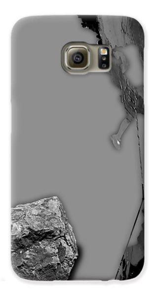 Rock Climber Collection Galaxy S6 Case by Marvin Blaine