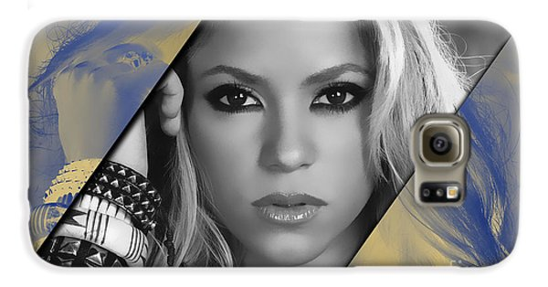 Shakira Galaxy S6 Case - Shakira Collection by Marvin Blaine