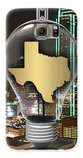 Texas State Map Collection Galaxy S6 Case by Marvin Blaine