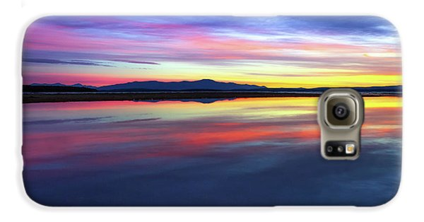 Lake Winnipesaukee - Layers Galaxy S6 Case